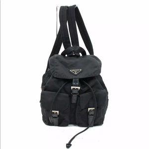 fb080fc3cb7c Authentic Prada Nylon Backpack
